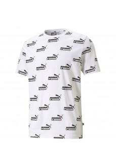 Puma Men´s T-Shirt Amplified AOP White 585789-02 | Men's T-Shirts | scorer.es