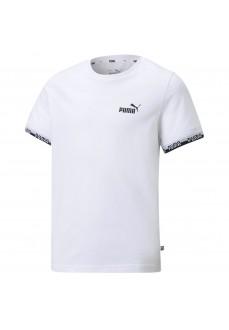 Camiseta Niño/a Puma Amplified Tee Blanco 585997-02   scorer.es