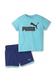 Conjunto Infantil Puma Minicats Azul 586622-49