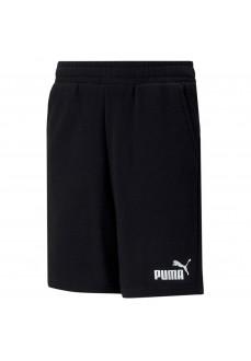 Pantalón Corto Niño/a Puma Essential Sweat Negro 586972-01 | scorer.es