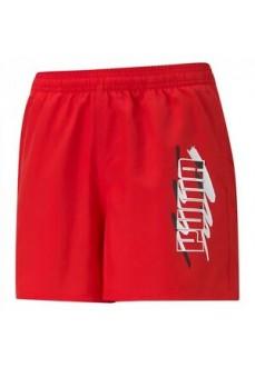 Puma Kid´s Short Pants Essential Summer Red 586978-11 | Trousers for Kids | scorer.es