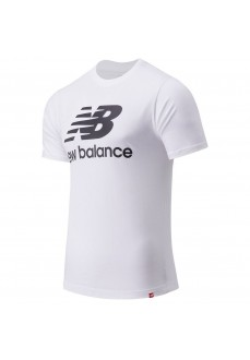 Camiseta Hombre New Balance Essentials Logo Blanco MT01575 WT | scorer.es