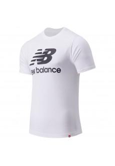 New Balance Men´s T-Shirt Essentials Logo White MT01575 WT | Men's T-Shirts | scorer.es