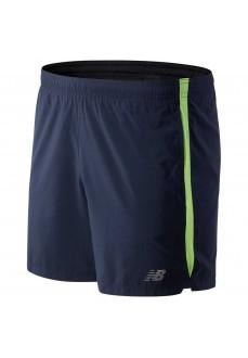 New Balance Men´s Running Short Pants Accelerate 5 Navy MS93187 BIO | Trousers for Men | scorer.es