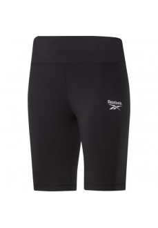 Reebok Woman´s Short Pants Identity Fitted Logo Black GL4694 | Trousers for Women | scorer.es