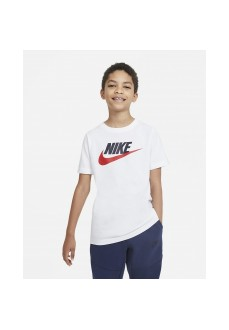 Nike Kid´s T-Shirt Sportswear White AR5252-107 | Kids' T-Shirts | scorer.es