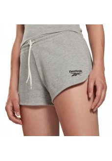 Reebok Woman´s Short Pants Identity French Grey GI6594 | Trousers for Women | scorer.es