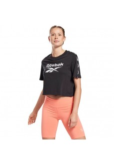 Camiseta Mujer Reebok Training Essentials Tape Negro GQ3882 | scorer.es