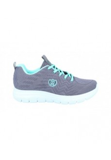 Laura Azaña Woman´s Shoes Linux Grey/Green LA24503TE | Women's Trainers | scorer.es