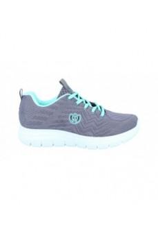 Zapatillas Mujer Laura Azaña Linux LA24503TE GRIS/VERDE   scorer.es