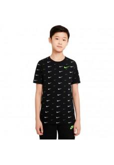 Nike Kid´s T-Shirt Sportswear Black DC7530-010 | Kids' T-Shirts | scorer.es