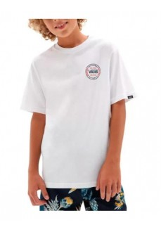 Vans Kid´s T-Shirt By Authentic Checker White VN0A543ZWHT1 | Kids' T-Shirts | scorer.es