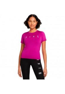Camiseta Mujer Nike Miler Run Division Morado DC5236-584 | scorer.es