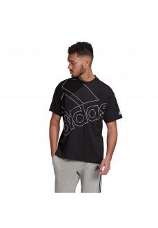 Camiseta Hombre Adidas Giant Logo Negro GK9422 | scorer.es