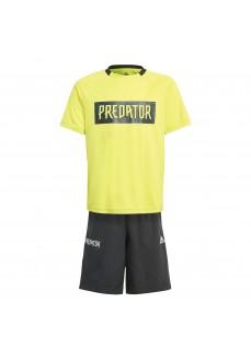Adidas Kid´s Set Predator Yellow/Black GM9022 | Football clothing | scorer.es