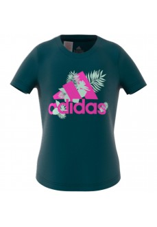 Adidas Sports Kids T-Shirt Tropical Bos Green GJ6516 | Kids' T-Shirts | scorer.es