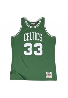 Camiseta Hombre Mitchell & Ness Larry Bird Verde SMJYGS18142-BCEKYGN85LBI | scorer.es