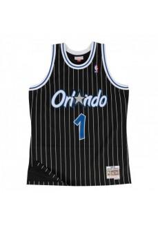 Mitchell & Ness Men's T-Shirt NBA Orlando Magic Anfernee Hardaway SMJYGS18190-OMABLCK94AHA