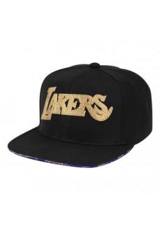 Mitchell & Ness Cap Los Angeles Lakers Black 6HSSMM20057-LALBLCK | Caps | scorer.es