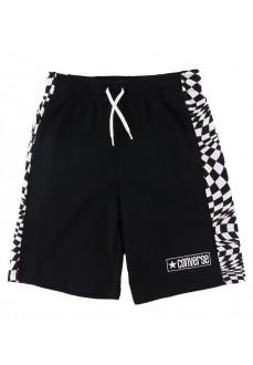 Converse Kids' Shorts Black 9CB382-023 | Kid's Sweatpants | scorer.es