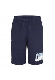 Converse Kids' Shorts 9CB323-695 Navy | Kid's Sweatpants | scorer.es