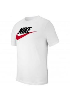 Nike Men's T-Shirt Sportswear White AR5004-100   Men's T-Shirts   scorer.es