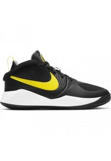 Zapatillas Niño/a Nike Hustle D 9 Negro/Amarillo AQ4224-013