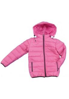 Joma Girls' Pink Hoodie Jacket