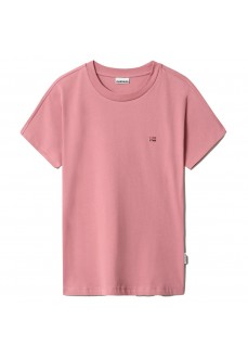 Camiseta Mujer Napapijri Salis SS Rosa NP0A4FACPA81 | scorer.es