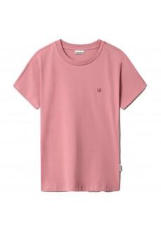 Napapijri Women's T-Shirt Salis SS Pink NP0A4FACPA81 | Women's T-Shirts | scorer.es