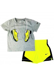 Nike Kids' Outfit Grey/Yellow 66H360-F68   Outfits   scorer.es