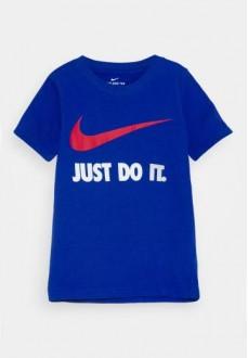 Camiseta Infantil Nike S/S Tee Azul 8U9461-U89 | scorer.es
