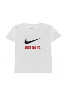 Camiseta Infantil Nike S/S Tee Blanco 8U9461-255 | scorer.es