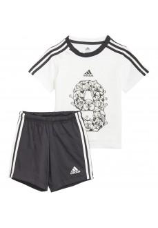 Adidas Kids' Outfit I Lil 3S SP Set White/Black GM8966   Outfits   scorer.es
