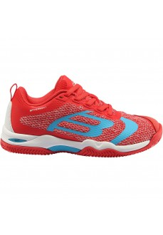 Zapatillas Mujer Bullpadel Beker Perf Rojo | scorer.es