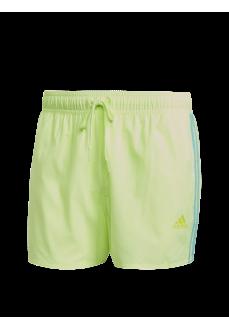 Adidas Swim Shorts Classic 3 Yellow GQ1099 | Men's Swimsuits | scorer.es