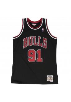 Camiseta Hombre Mitchell & Ness Chicago Bulls Dennis Rodman Negro SMJYGS18152-CBUBLCK97DRD | scorer.es