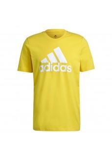Camiseta Hombre Adidas Essentials Big Logo Amarillo GM3248 | scorer.es