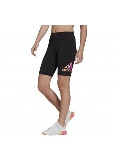 Adidas Women's Shorts Essentials Gradient Logo Black GM5552 | Tights for Women | scorer.es