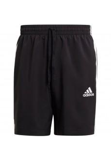 Pantalón Corto Hombre Adidas Aeroready Essentials Negro GL0022 | scorer.es