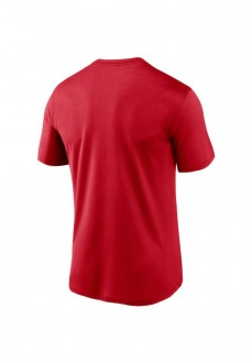 Camiseta Hombre Nike Philadelphia Phillies Rojo N199-62Q-PP-M3X | scorer.es