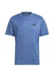 adidas Men´s T-Shirts Elastica Aeroready Designed Blue GM2139 | Men's T-Shirts | scorer.es