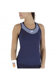 Head Women's Padel T-Shirt Tenley Top Navy | Paddle tennis clothing | scorer.es
