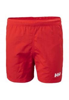 Helly Hansen Kids' Shorts Volley Red 41706-222 | Kid's Sweatpants | scorer.es