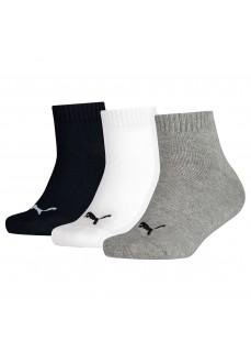 Puma Kids Invisible Socks 3P Different Colours 194011001-803 | scorer.es