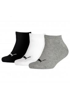 Puma Kids' Invisible Socks 3P Different Colours 194010001-803 | Socks | scorer.es