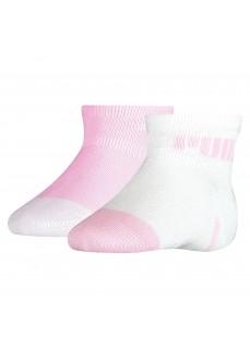 Puma Baby Mini Cats Socks Pink/White 100000972-002 | Socks | scorer.es
