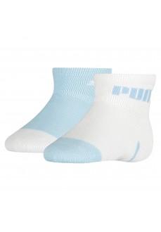 Puma Baby Mini Cats Socks White/Blue 100000972-001 | Socks | scorer.es