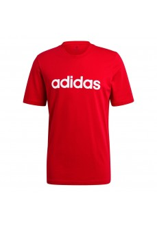 Camiseta Hombre Adidas Essential Embroidered Rojo GL0061 | scorer.es