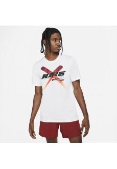 Nike Men's T-Shirt Dri-Fit White DA1790-100 | Men's T-Shirts | scorer.es